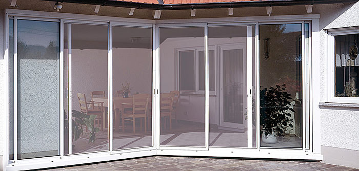 tipos de mosquiteras para ventanas y puertas de alumino y pvc On mosquitera puerta corredera