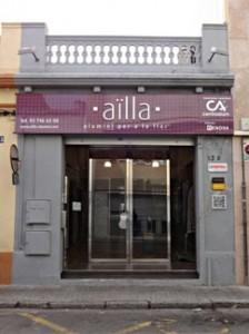 fachada tienda de aïlla