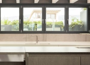 Los tipos de ventanas de aluminio y PVC
