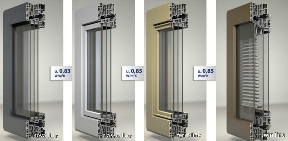 Las mejores ventanas y puertas correderas de aluminio for Colores de perfiles de aluminio
