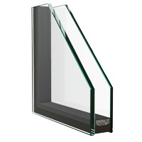 ejemplo de vidrio protección térmica