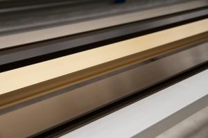 perfiles aluminio anodizado